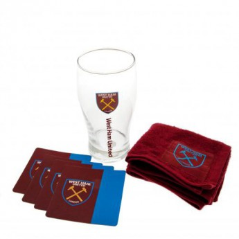 West Ham United barový set Mini Bar Set
