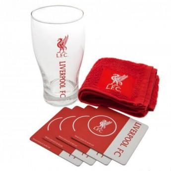 FC Liverpool barový set Mini Bar Set
