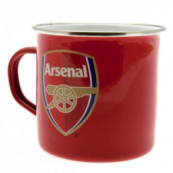FC Arsenal plechový hrnek Tin mug