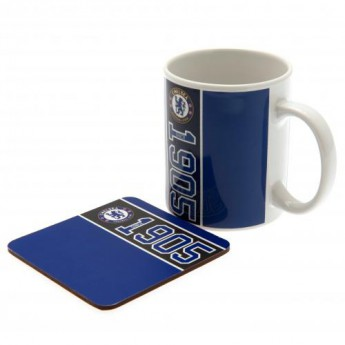 FC Chelsea hrníček Mug and Coaster Set