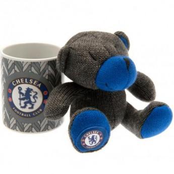 FC Chelsea set hrníček a plyšový medvěd Mug and Bear Set