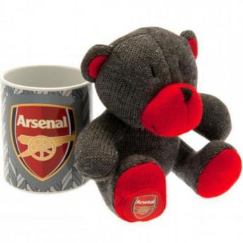 FC Arsenal set hrníček a plyšový medvěd Mug and Bear Set