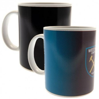 West Ham United hrníček Heat Changing Mug