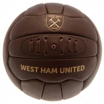 West Ham United fotbalový míč Retro Heritage Football