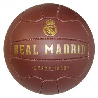 Real Madrid fotbalový míč Faux Leather Football - size 5