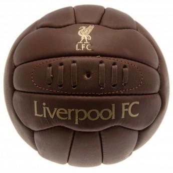 FC Liverpool fotbalový míč Retro Heritage Football
