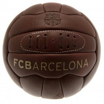 FC Barcelona fotbalový míč Retro Heritage Football - size 5