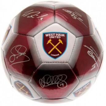 West Ham United podepsaný míč Football Signature