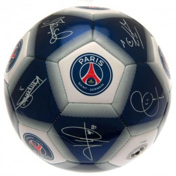 Paris Saint German podepsaný míč Football Signature