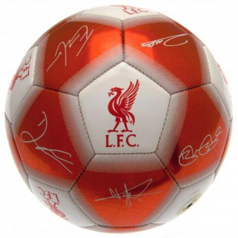FC Liverpool podepsaný míč Football Signature