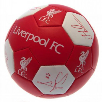 FC Liverpool fotbalový míč Nuskin Football Size 3