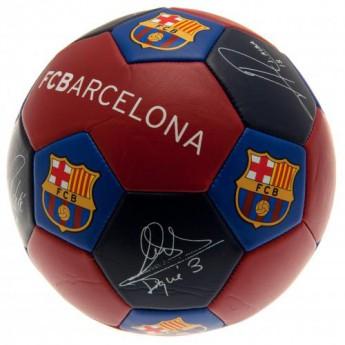 FC Barcelona fotbalový míč Nuskin Football Size 3