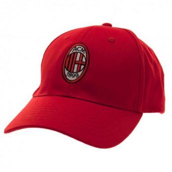 AC Milan čepice baseballová kšiltovka red