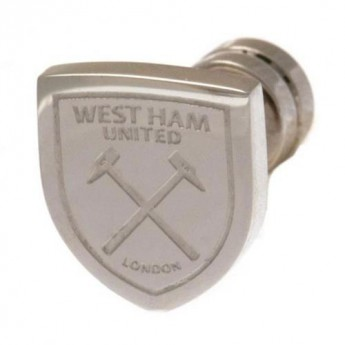 West Ham United náušnice Cut Out Stud Earring