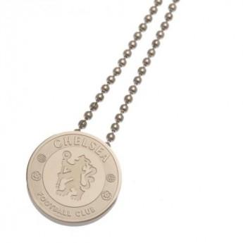 FC Chelsea řetízek na krk s přívěškem Stainless Steel Pendant & Chain