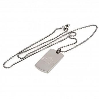 Sunderland řetízek na krk se psí známkou Engraved Dog Tag & Chain