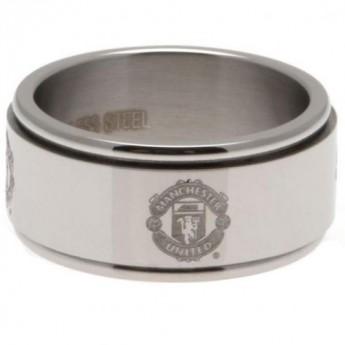 Manchester United prsten Spinner Ring Large