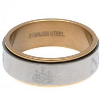 Newcastle United prsten Bi Colour Spinner Ring X-Large