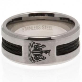 Newcastle United prsten Black Inlay Medium