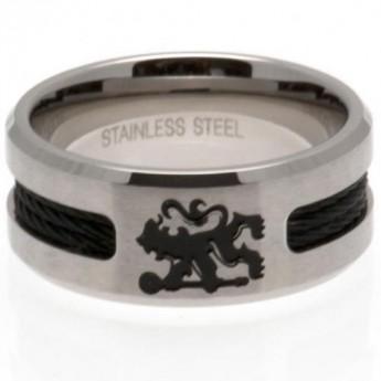 FC Chelsea prsten Black Inlay Large