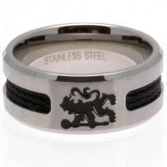 FC Chelsea prsten Black Inlay Small