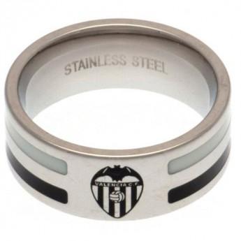 Valencia CF prsten Colour Stripe Ring Medium