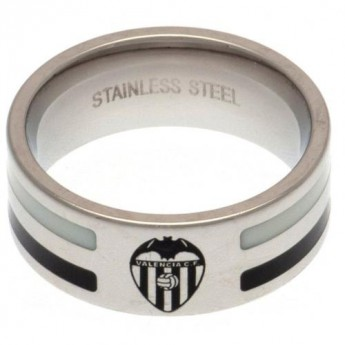 Valencia CF prsten Colour Stripe Ring Small