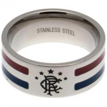 FC Rangers prsten Colour Stripe Ring Large