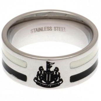 Newcastle United prsten Colour Stripe Ring Large