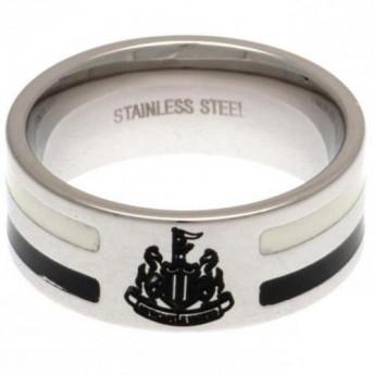 Newcastle United prsten Colour Stripe Ring Medium