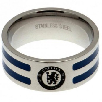 FC Chelsea prsten Colour Stripe Ring Large