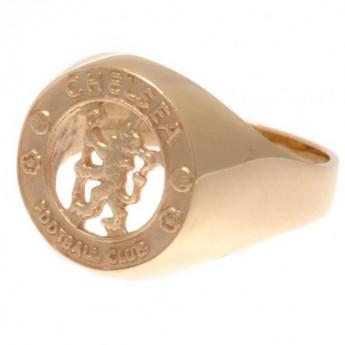FC Chelsea prsten 9ct Gold Crest Medium
