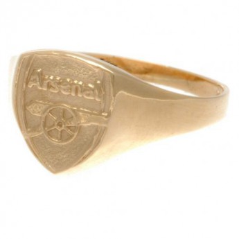 FC Arsenal prsten 9ct Gold Crest Medium