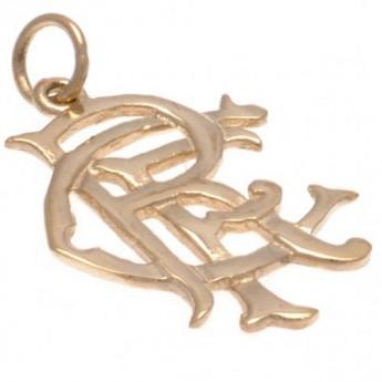 FC Rangers zlatý přívěšek 9ct Gold Pendant Small