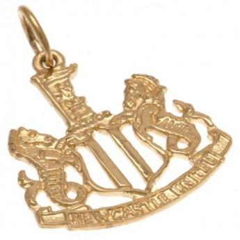 Newcastle United zlatý přívěšek 9ct Gold Pendant