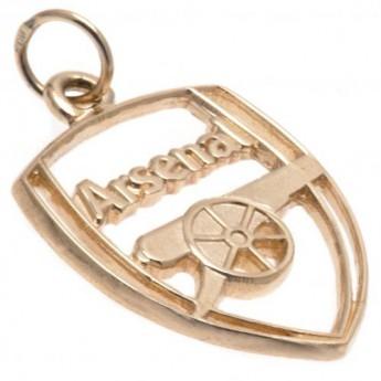 FC Arsenal zlatý přívěšek 9ct Gold Pendant Crest