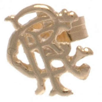 FC Rangers náušnice 9ct Gold Earring