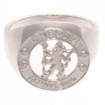 FC Chelsea prsten Sterling Silver Ring Large