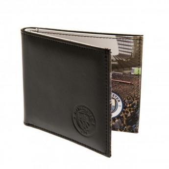 Manchester City kožená peněženka Panoramic Wallet