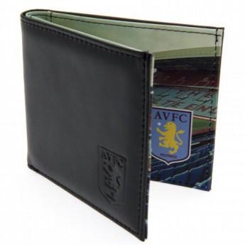 Aston Villa kožená peněženka Panoramic Wallet