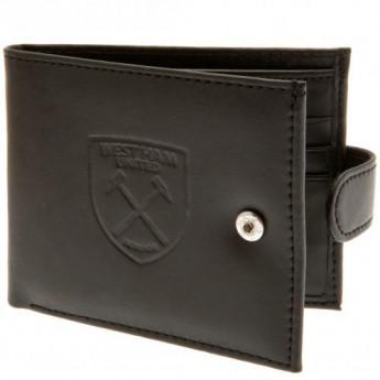 West Ham United kožená peněženka Anti Fraud Wallet