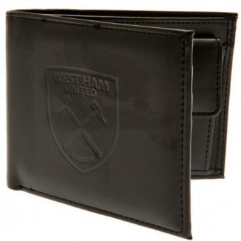 West Ham United peněženka z technické kůže Debossed Wallet