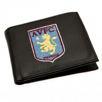 Aston Villa peněženka z technické kůže Embroidered Wallet
