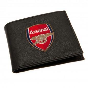 FC Arsenal peněženka z technické kůže Embroidered Wallet