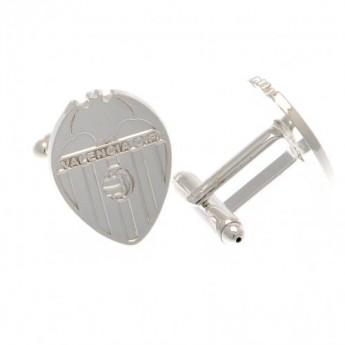 Valencia CF manžetové knoflíčky Silver Plated Cufflinks CR