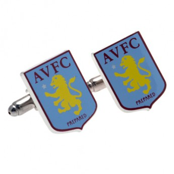 Aston Villa manžetové knoflíčky Crest