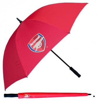 FC Arsenal deštník Golf Umbrella red Single Canopy