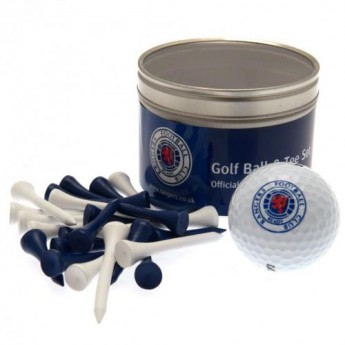 FC Rangers golfový set Ball & Tee Set