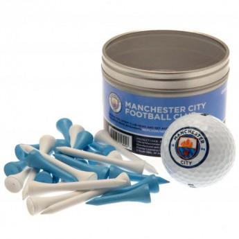 Manchester City golfový set Ball & Tee Set