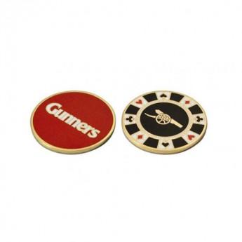 FC Arsenal marker míčku Casino Chip Ball Marker